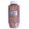 Glitter Flakes Vials Large Jar Iridescent Red with sifter Top
